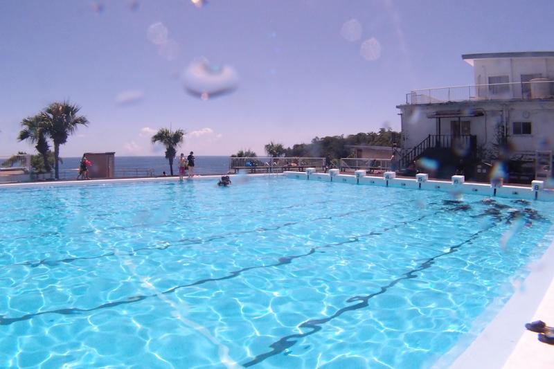 伊豆海洋公園のプール