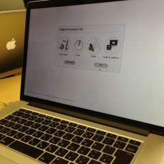 MacBookPro 15inch Retinaモデルを焼き付き問題で修理に出した