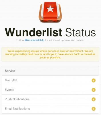 WunderlistStatus