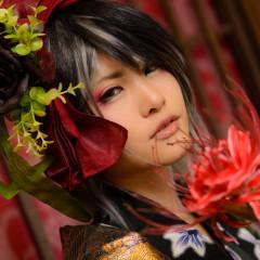 【創作コス】花魁 courtesan; prostitute; oiran【撮影してきた】