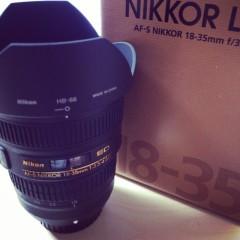 超広角レンズ AF-S NIKKOR 18-35mm f/3.5-4.5G ED 購入&試写