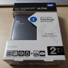 ポータブルHDDはこれで決まり!WesternDigital製「My Passport Ultra」購入レビュー