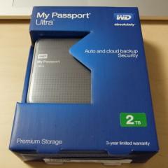 WesternDigital製ポータブルHDD「My Passport Ultra」が初期不良だったのでAmazonへ返品交換