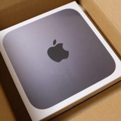 Mac mini 2018とMacBookPro13(M1)購入