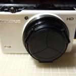 OLYMPUS XZ-1にリコー製レンズキャップLC-2を装着してみた